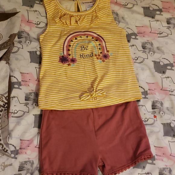 Little girls summer outfit.